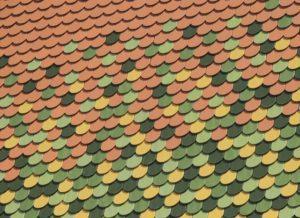 harper roof colorful shingles