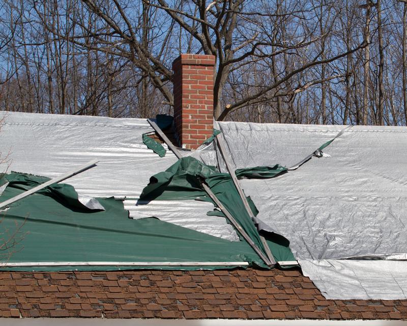 Roofing Repair Tarp