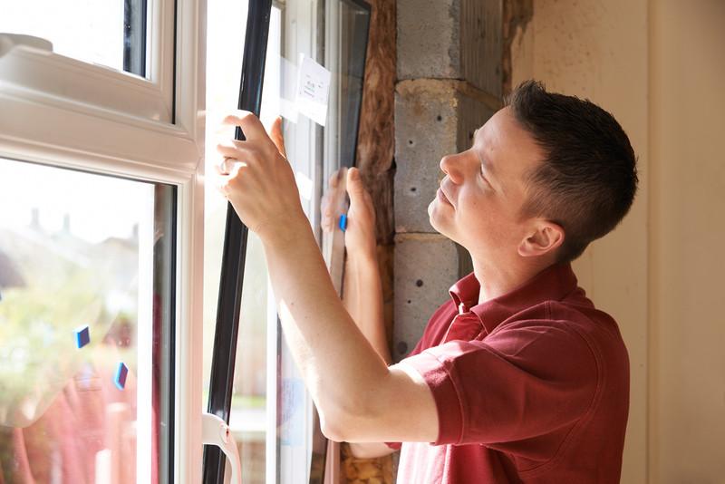 installation of new windows
