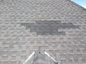 mismatched roofing shingles